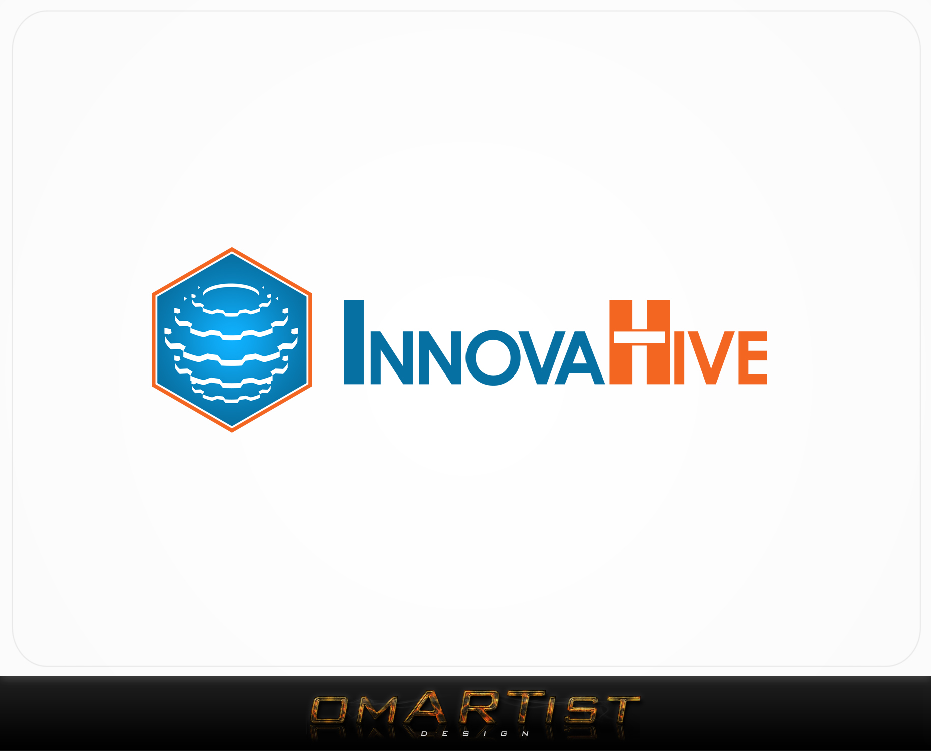 Logo Design by omARTist - Entry No. 6 in the Logo Design Contest InnovaHive Logo Design.