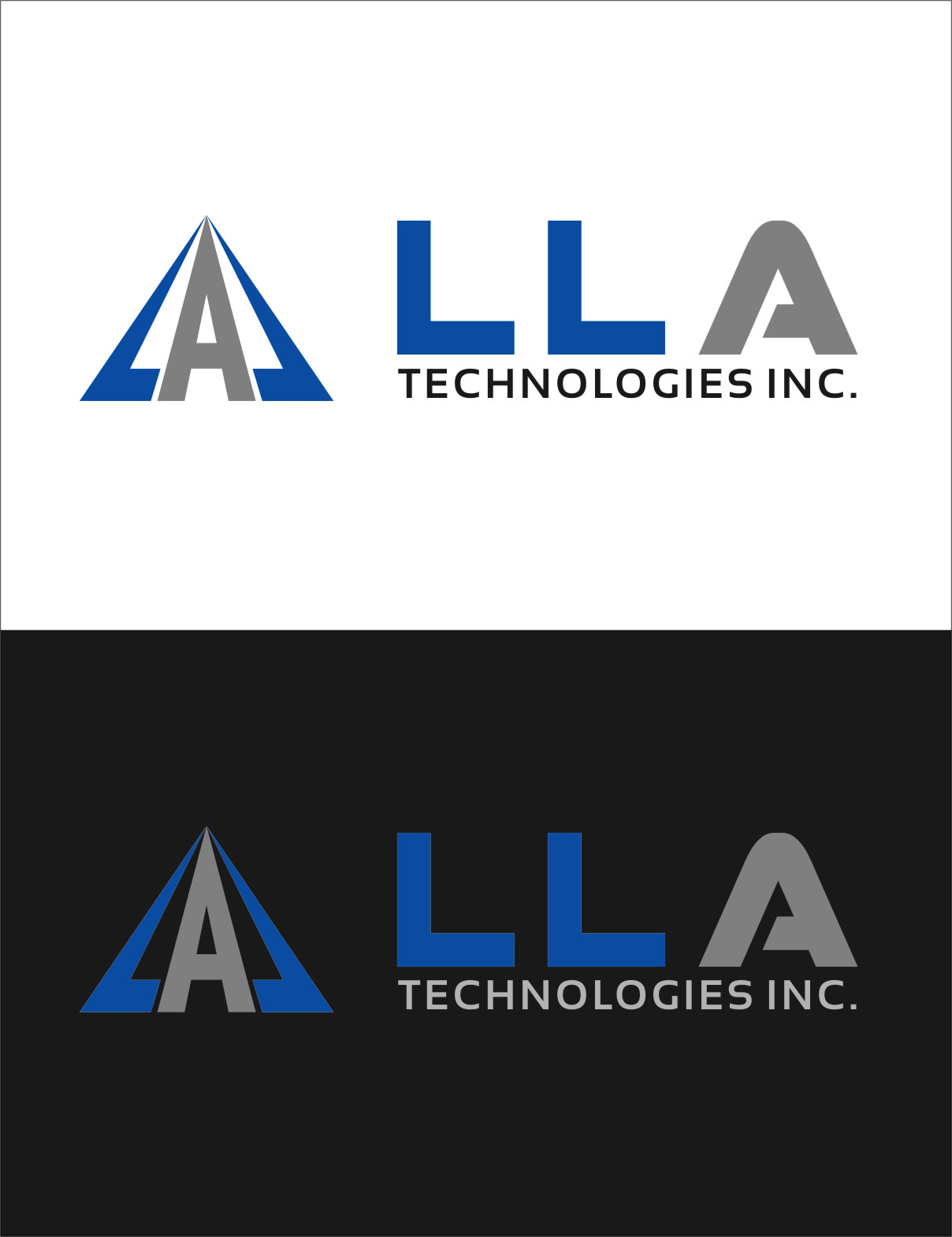 Logo Design by Ngepet_art - Entry No. 278 in the Logo Design Contest Inspiring Logo Design for LLA Technologies Inc..