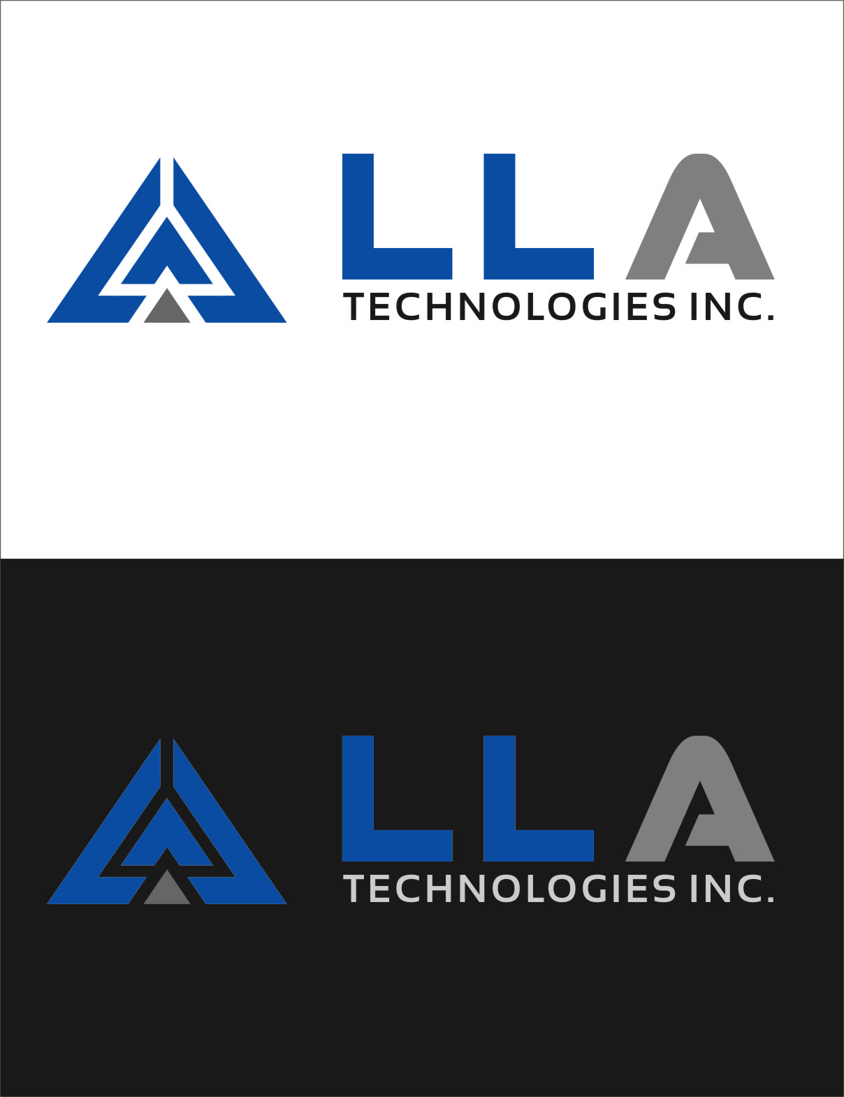 Logo Design by RoSyid Rono-Rene On Java - Entry No. 280 in the Logo Design Contest Inspiring Logo Design for LLA Technologies Inc..
