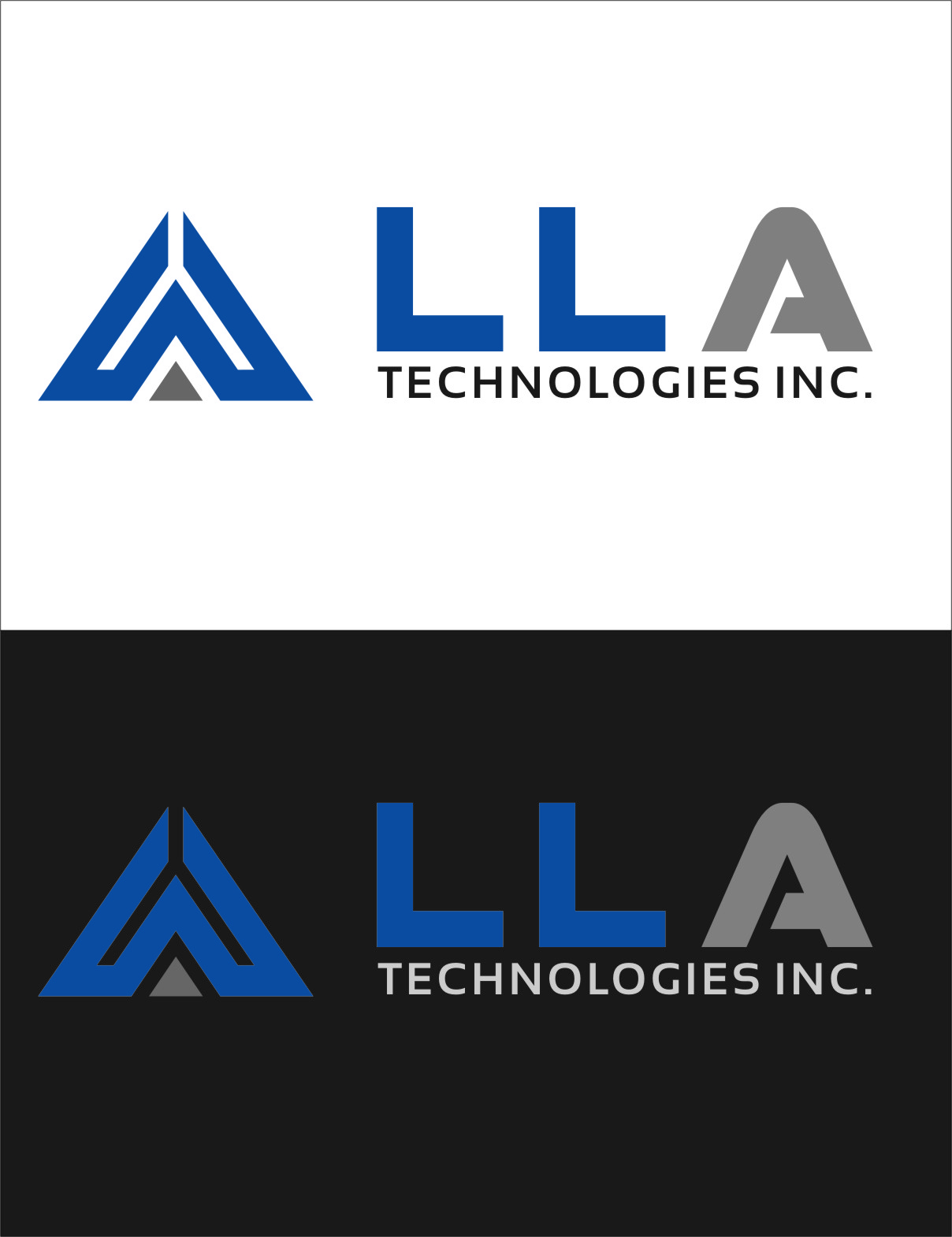 Logo Design by RoSyid Rono-Rene On Java - Entry No. 281 in the Logo Design Contest Inspiring Logo Design for LLA Technologies Inc..