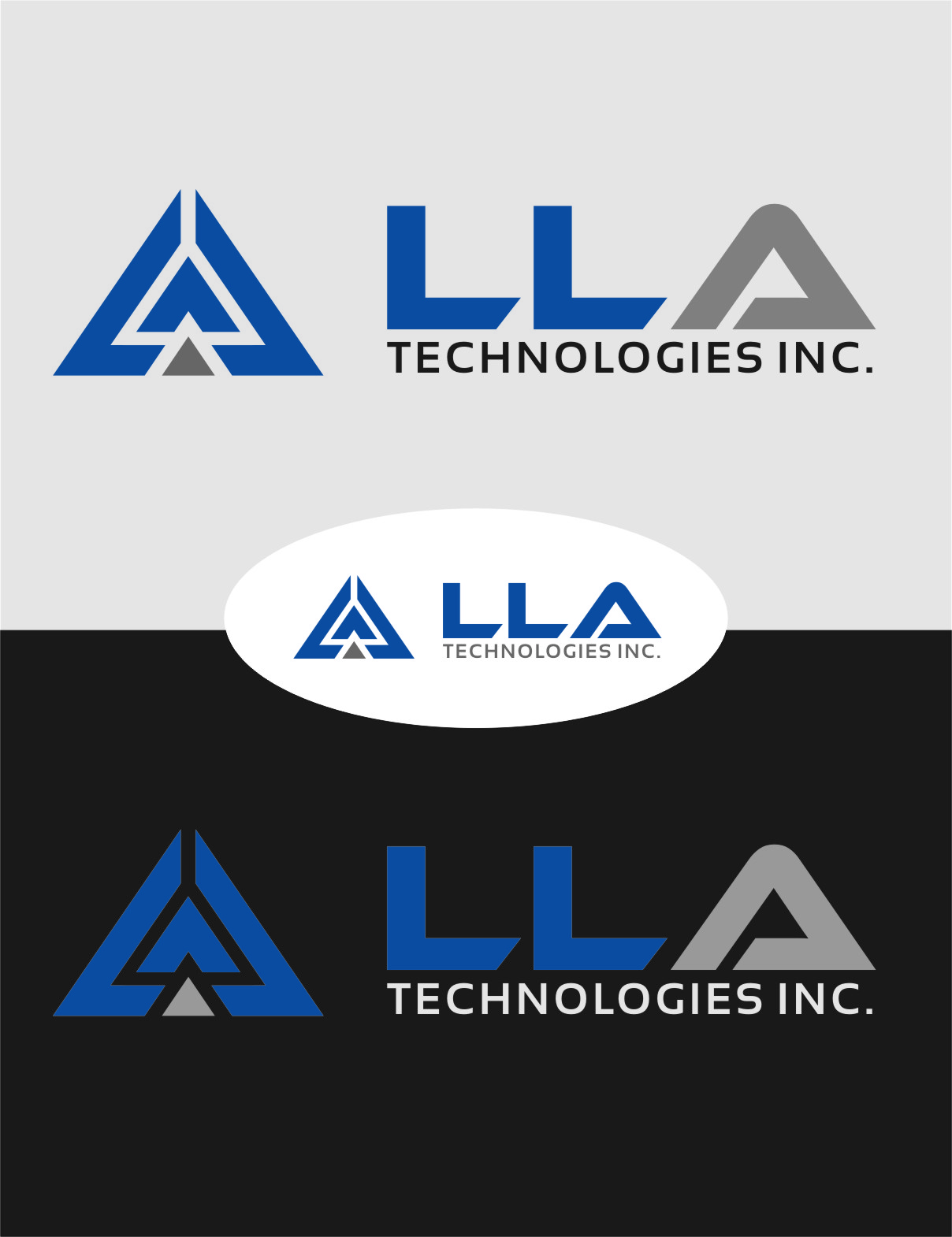 Logo Design by Ngepet_art - Entry No. 282 in the Logo Design Contest Inspiring Logo Design for LLA Technologies Inc..