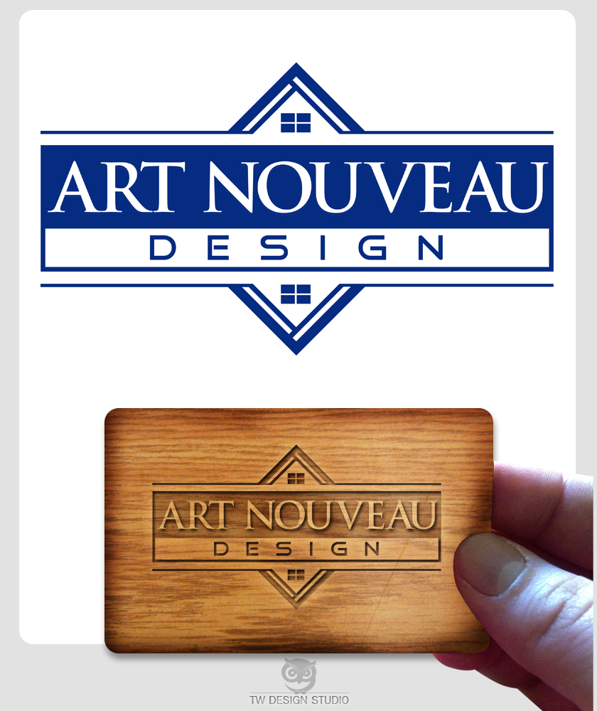 Logo Design by Private User - Entry No. 36 in the Logo Design Contest Artistic Logo Design for Art Nouveau Design.