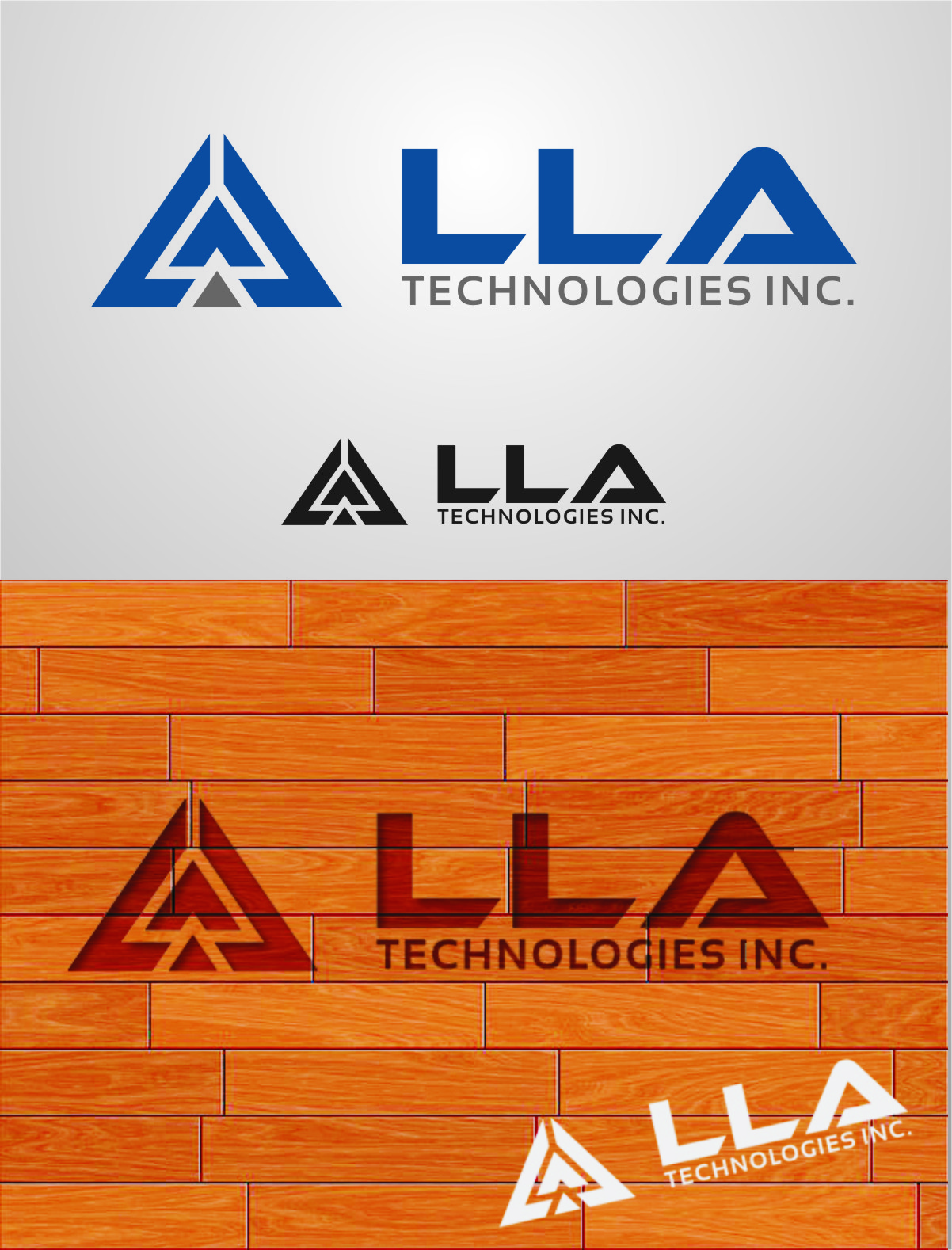 Logo Design by Ngepet_art - Entry No. 283 in the Logo Design Contest Inspiring Logo Design for LLA Technologies Inc..