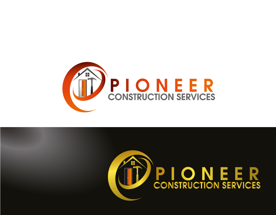Logo Design by Private User - Entry No. 42 in the Logo Design Contest Imaginative Logo Design for  Pioneer Construction Ltd.