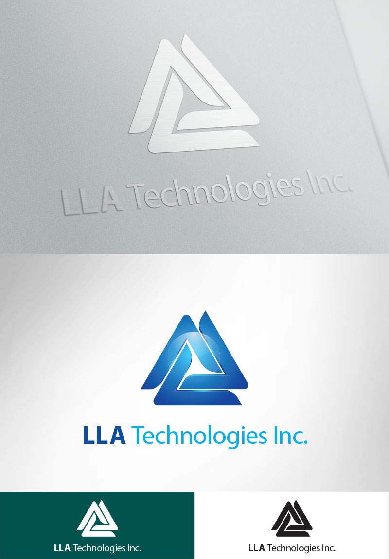 Logo Design by Muhammad Asghar Choudhary - Entry No. 284 in the Logo Design Contest Inspiring Logo Design for LLA Technologies Inc..