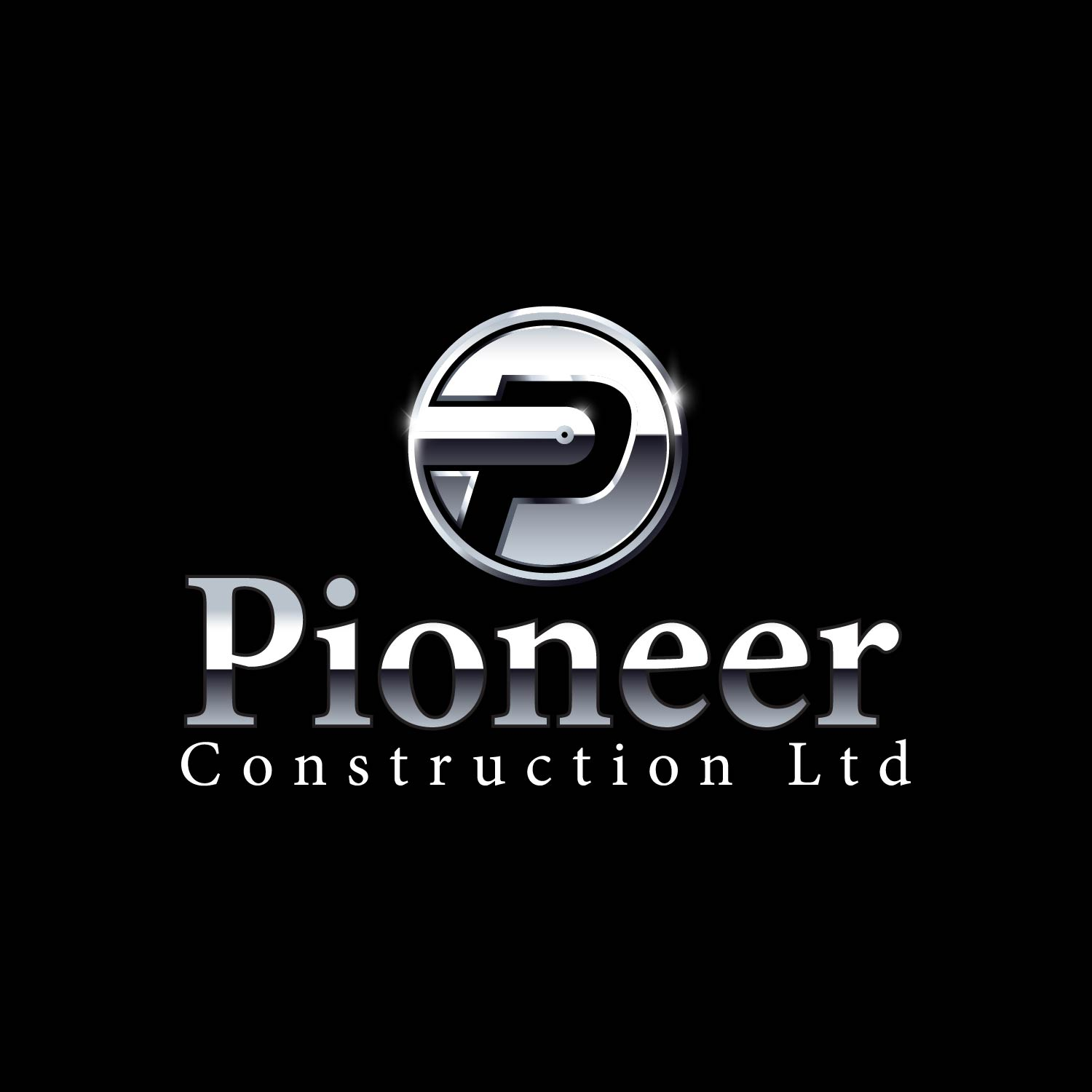 Logo Design by lagalag - Entry No. 44 in the Logo Design Contest Imaginative Logo Design for  Pioneer Construction Ltd.