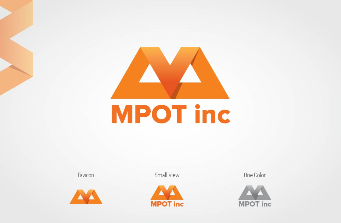 Logo Design by Shahriar Zaman - Entry No. 3 in the Logo Design Contest Mpot inc  Logo Design.