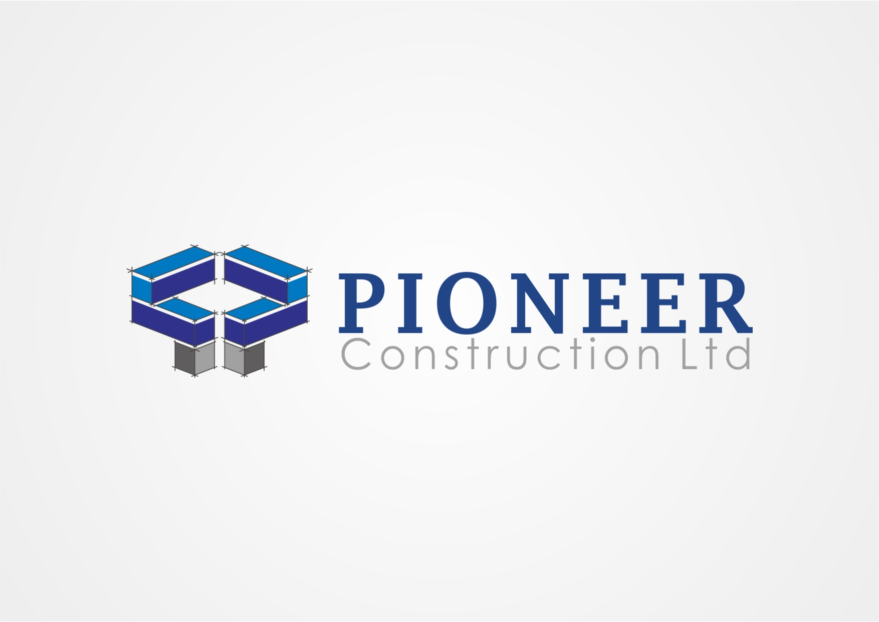 Logo Design by Private User - Entry No. 49 in the Logo Design Contest Imaginative Logo Design for  Pioneer Construction Ltd.
