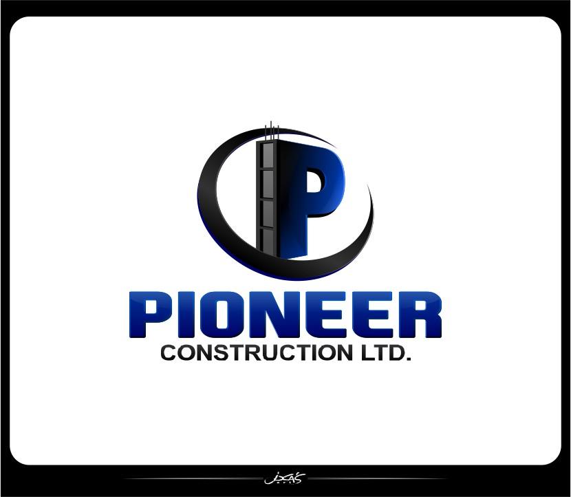 Logo Design by joca - Entry No. 51 in the Logo Design Contest Imaginative Logo Design for  Pioneer Construction Ltd.