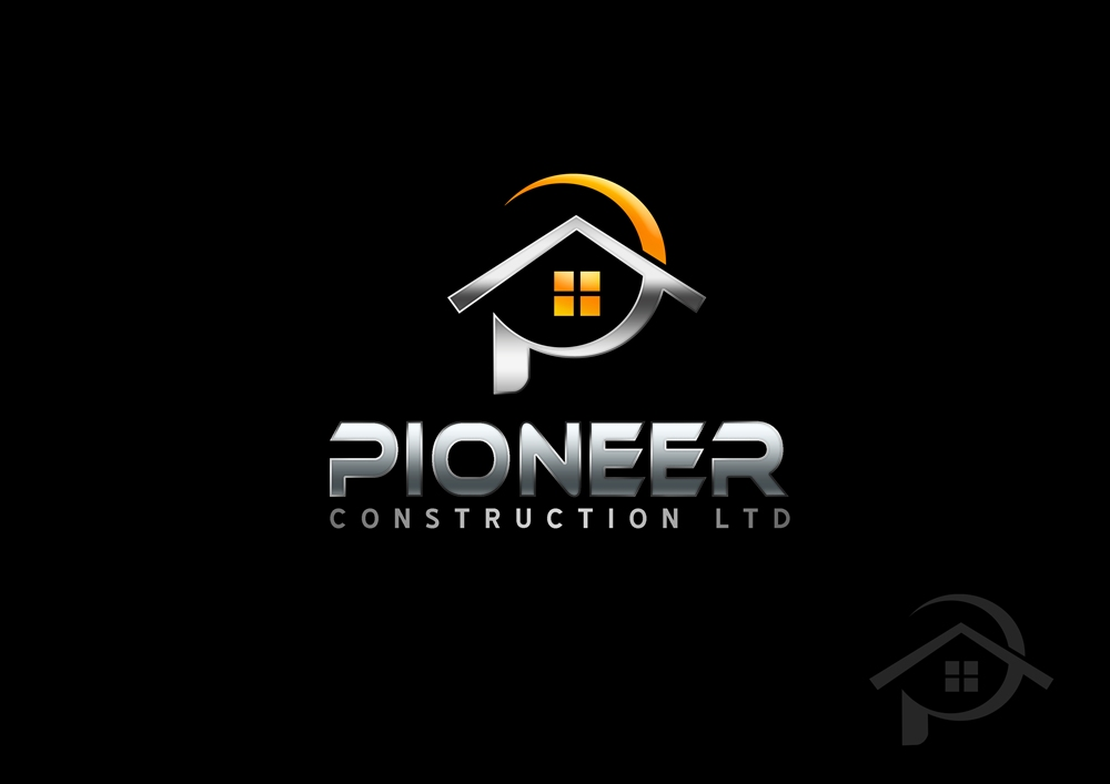 Logo Design by Respati Himawan - Entry No. 52 in the Logo Design Contest Imaginative Logo Design for  Pioneer Construction Ltd.