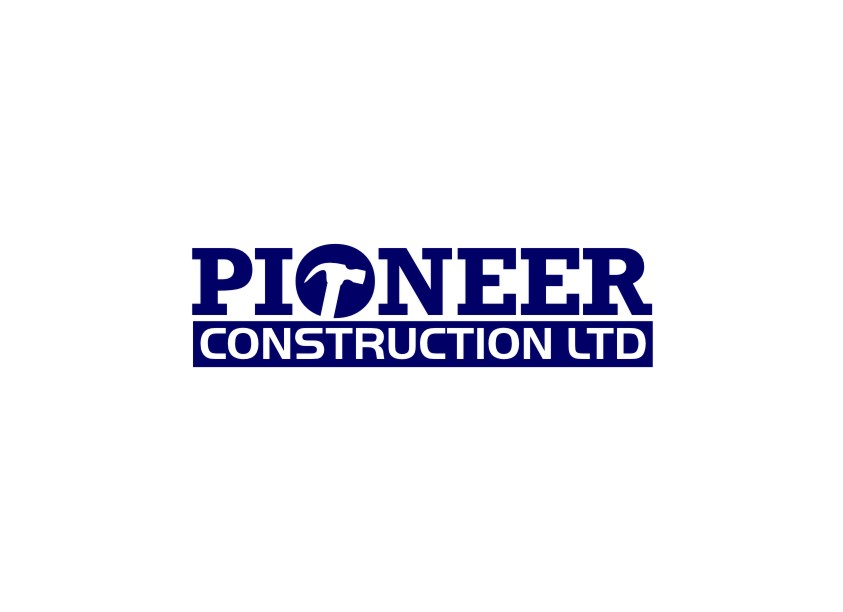 Logo Design by untung - Entry No. 54 in the Logo Design Contest Imaginative Logo Design for  Pioneer Construction Ltd.