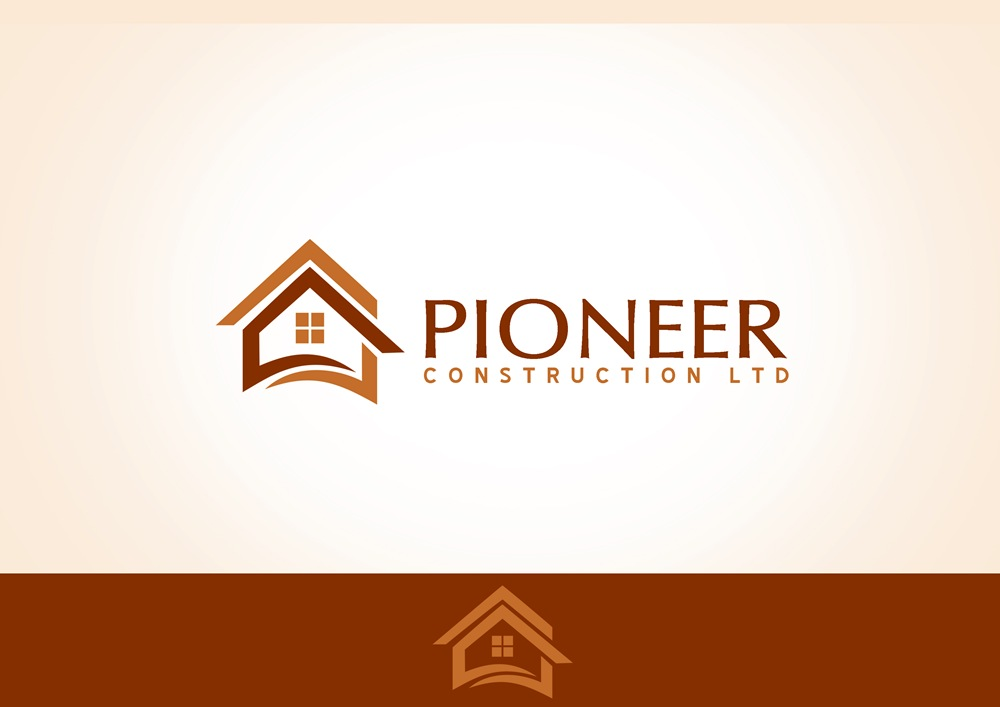 Logo Design by Respati Himawan - Entry No. 55 in the Logo Design Contest Imaginative Logo Design for  Pioneer Construction Ltd.