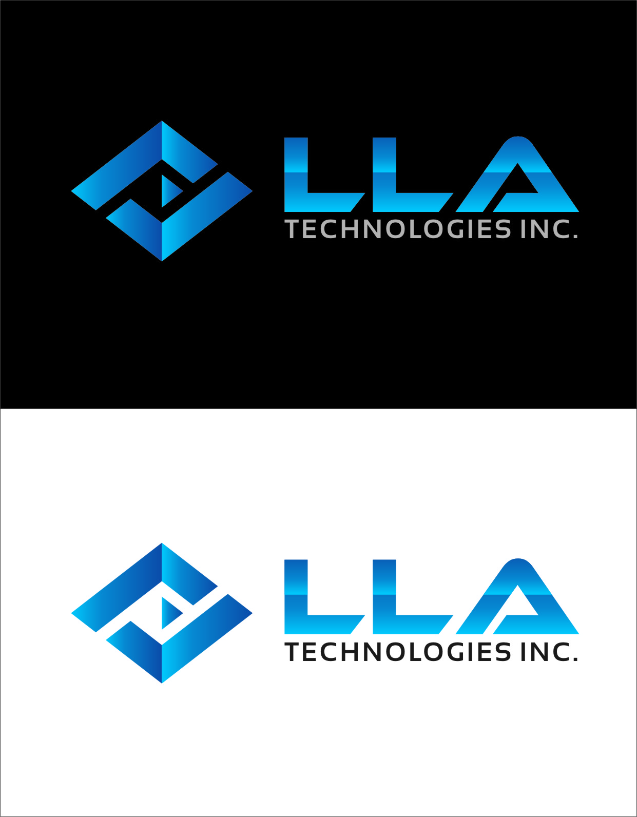 Logo Design by Ngepet_art - Entry No. 297 in the Logo Design Contest Inspiring Logo Design for LLA Technologies Inc..