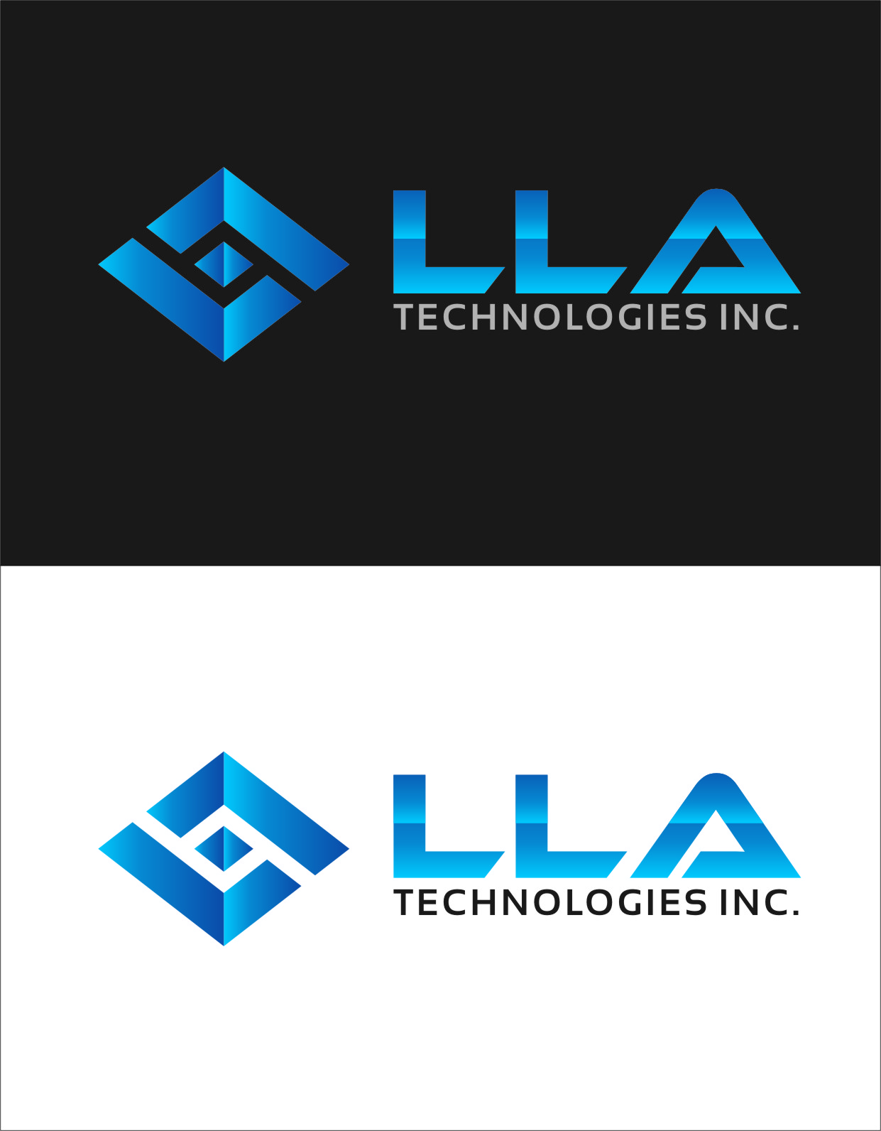 Logo Design by Ngepet_art - Entry No. 299 in the Logo Design Contest Inspiring Logo Design for LLA Technologies Inc..