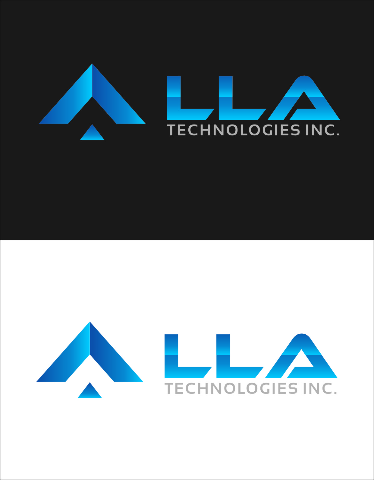 Logo Design by RasYa Muhammad Athaya - Entry No. 300 in the Logo Design Contest Inspiring Logo Design for LLA Technologies Inc..