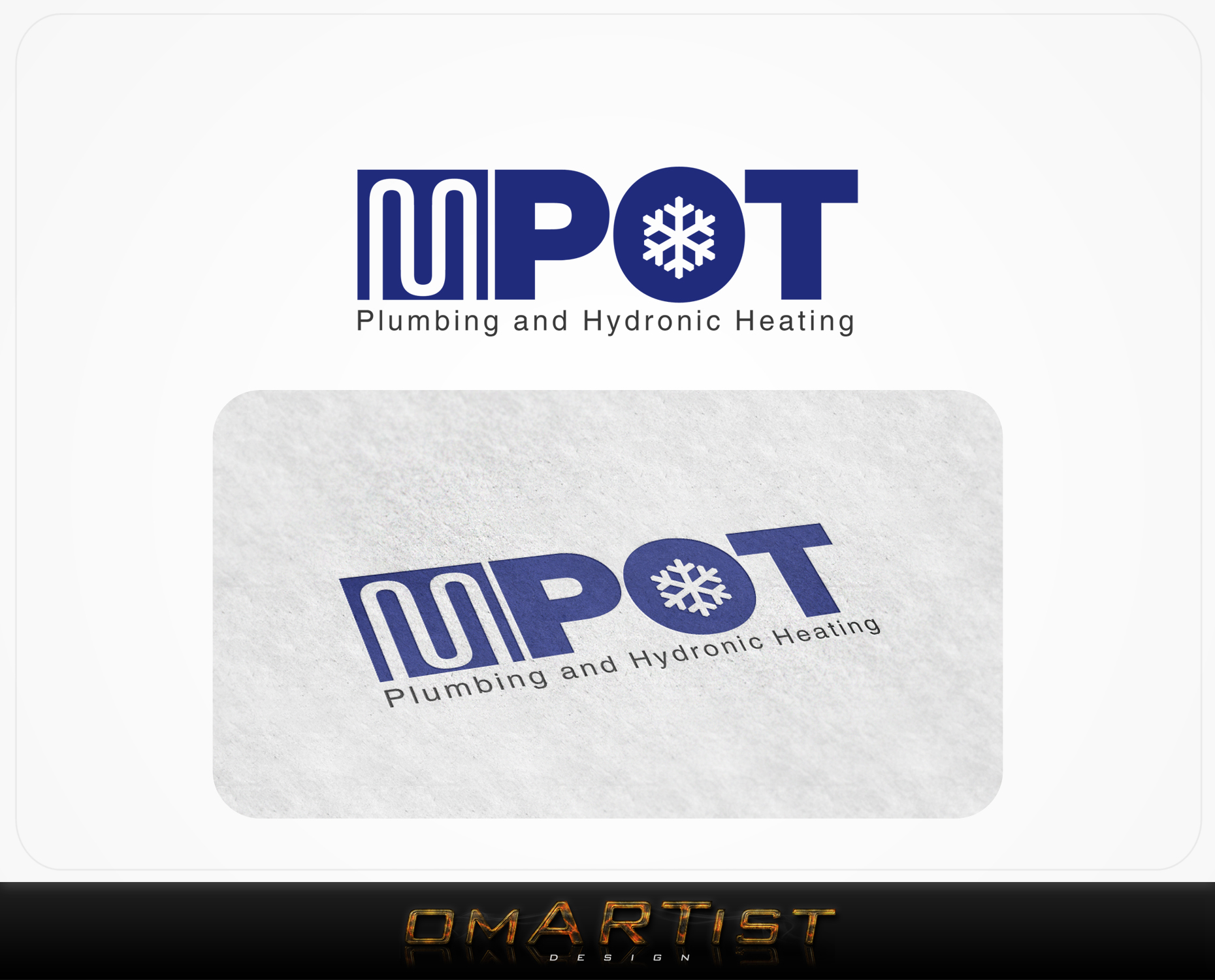 Logo Design by omARTist - Entry No. 6 in the Logo Design Contest Mpot inc  Logo Design.