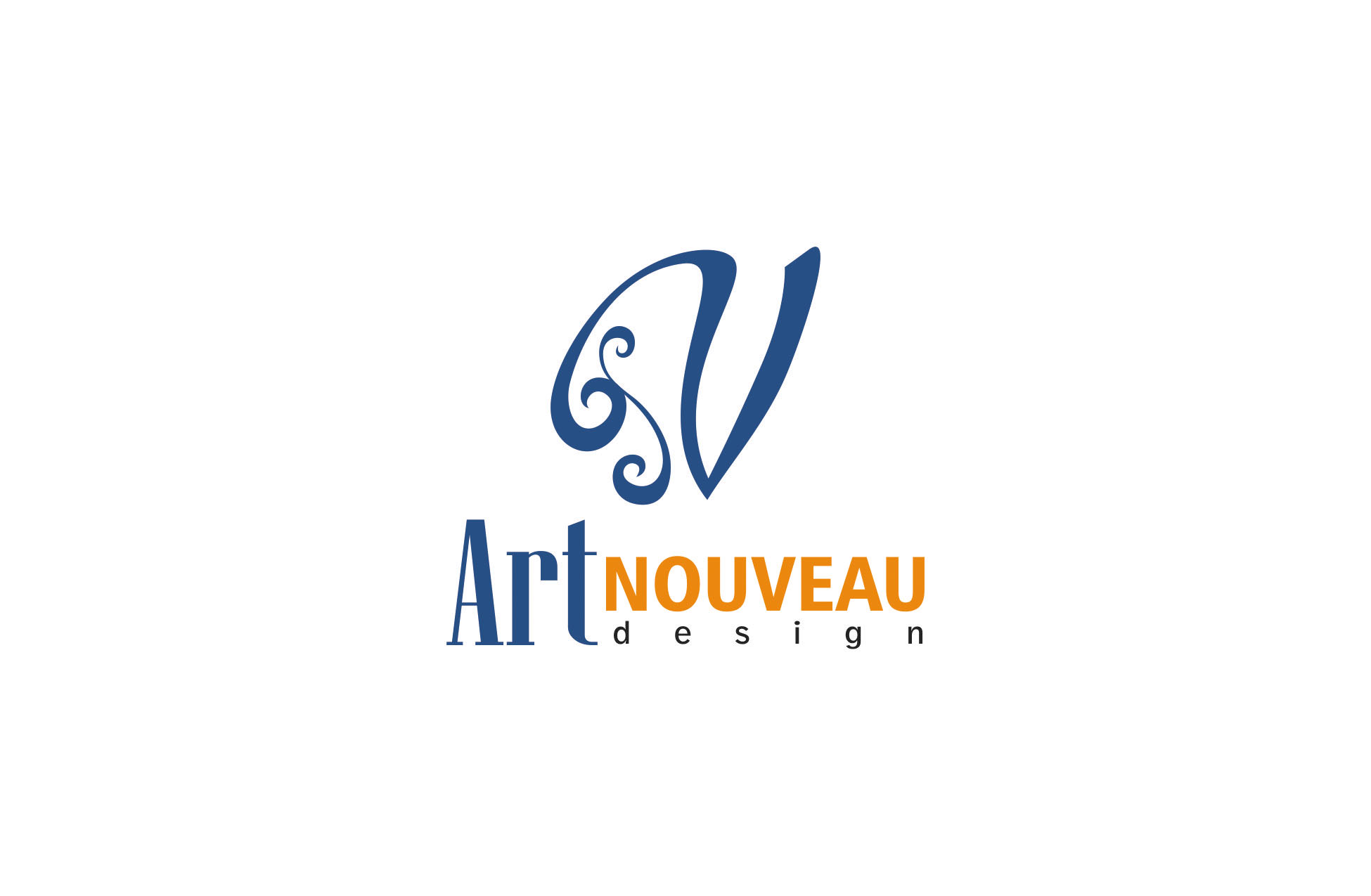 Logo Design by Respati Himawan - Entry No. 54 in the Logo Design Contest Artistic Logo Design for Art Nouveau Design.