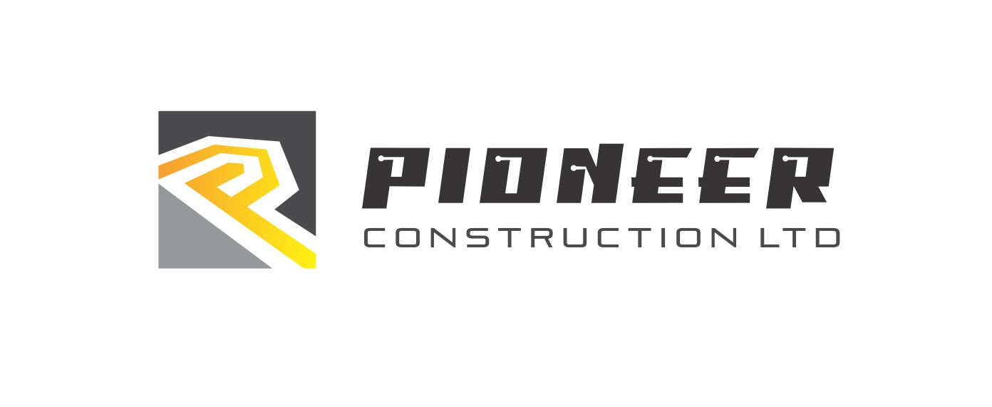 Logo Design by Respati Himawan - Entry No. 59 in the Logo Design Contest Imaginative Logo Design for  Pioneer Construction Ltd.