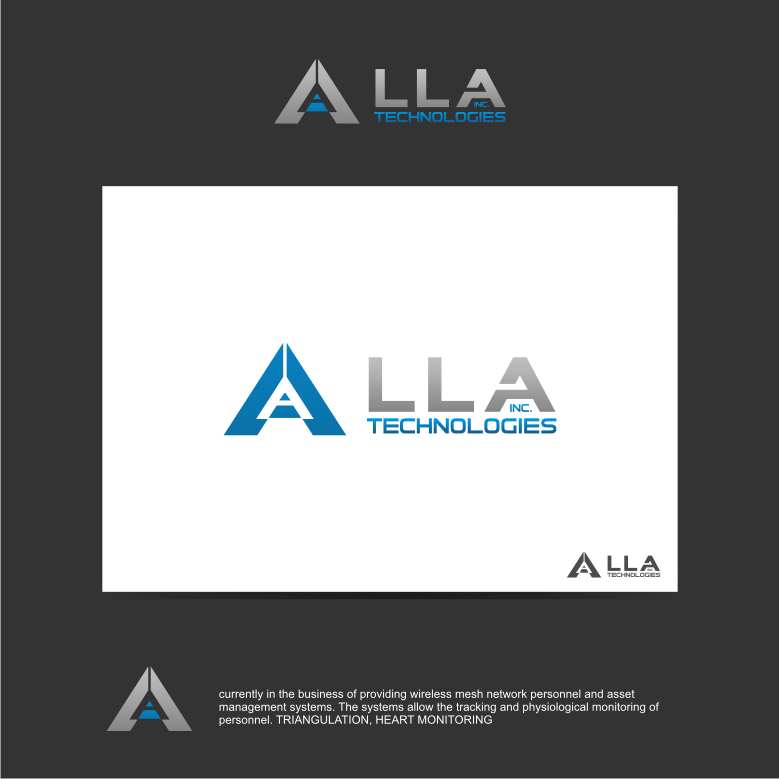 Logo Design by graphicleaf - Entry No. 310 in the Logo Design Contest Inspiring Logo Design for LLA Technologies Inc..