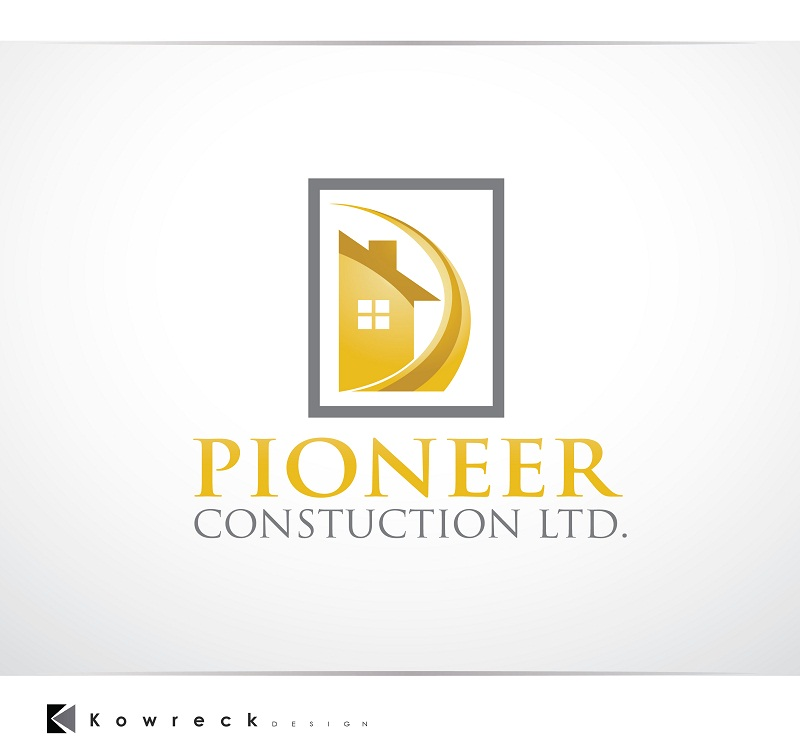 Logo Design by kowreck - Entry No. 62 in the Logo Design Contest Imaginative Logo Design for  Pioneer Construction Ltd.