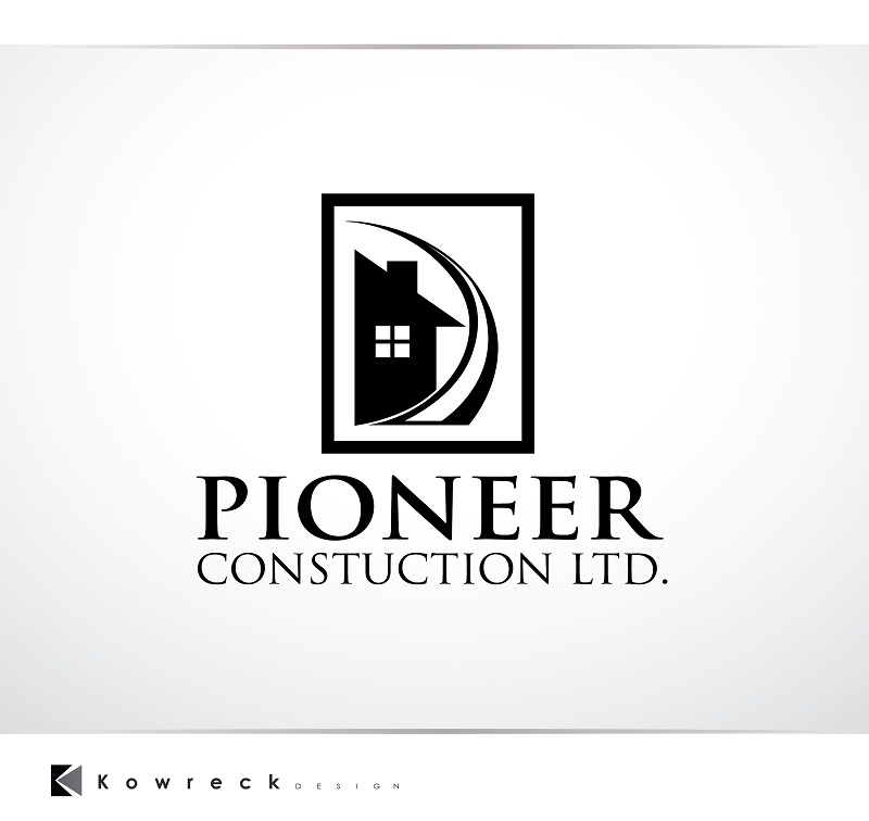 Logo Design by kowreck - Entry No. 63 in the Logo Design Contest Imaginative Logo Design for  Pioneer Construction Ltd.