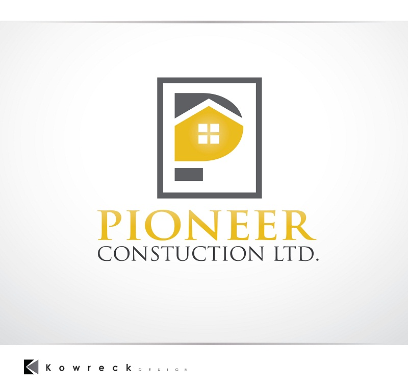 Logo Design by kowreck - Entry No. 64 in the Logo Design Contest Imaginative Logo Design for  Pioneer Construction Ltd.