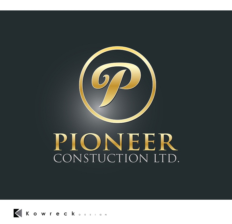 Logo Design by kowreck - Entry No. 65 in the Logo Design Contest Imaginative Logo Design for  Pioneer Construction Ltd.