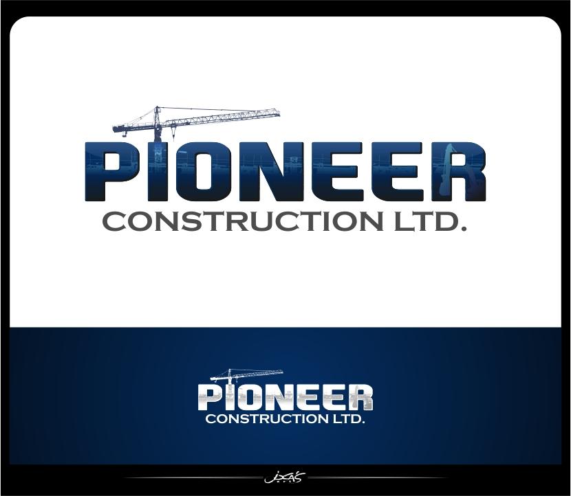 Logo Design by joca - Entry No. 68 in the Logo Design Contest Imaginative Logo Design for  Pioneer Construction Ltd.