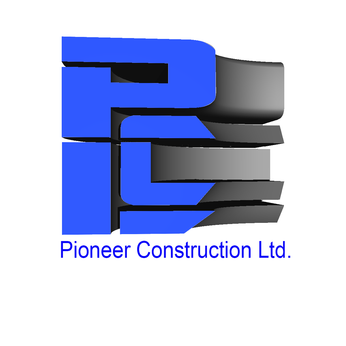 Logo Design by Private User - Entry No. 70 in the Logo Design Contest Imaginative Logo Design for  Pioneer Construction Ltd.