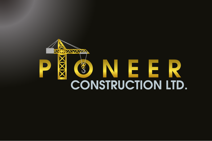 Logo Design by Private User - Entry No. 71 in the Logo Design Contest Imaginative Logo Design for  Pioneer Construction Ltd.