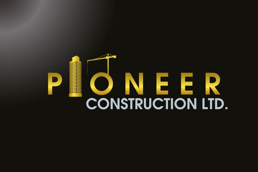 Logo Design by Private User - Entry No. 72 in the Logo Design Contest Imaginative Logo Design for  Pioneer Construction Ltd.