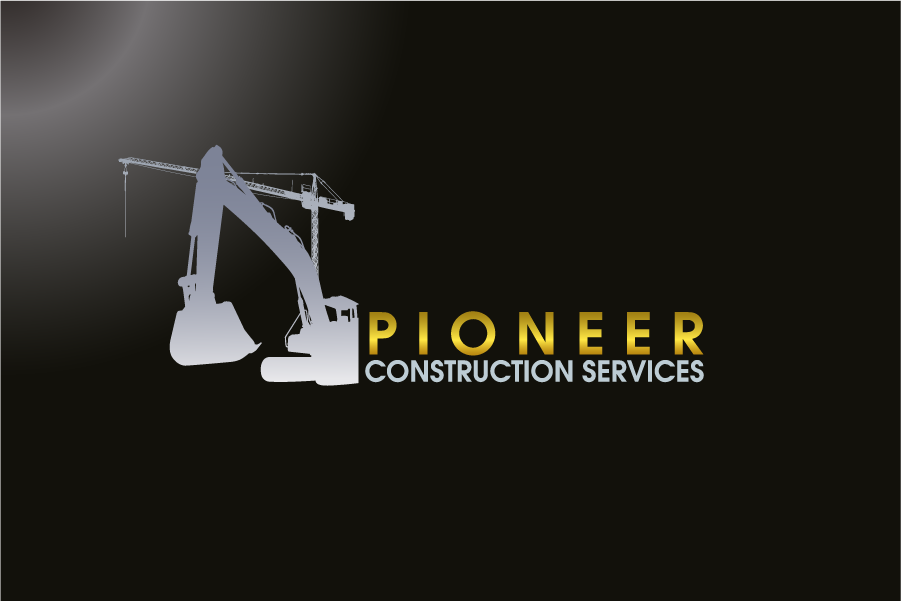 Logo Design by Private User - Entry No. 73 in the Logo Design Contest Imaginative Logo Design for  Pioneer Construction Ltd.