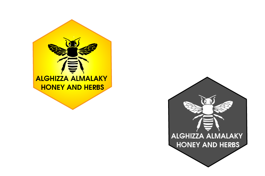 Logo Design by Private User - Entry No. 13 in the Logo Design Contest Artistic Logo Design for ALGHIZZA ALMALAKY HONEY AND HERBS.