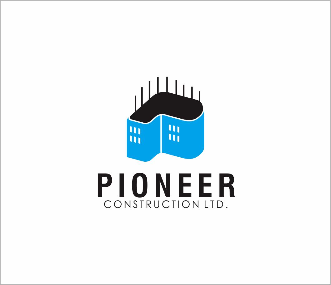 Logo Design by Armada Jamaluddin - Entry No. 78 in the Logo Design Contest Imaginative Logo Design for  Pioneer Construction Ltd.