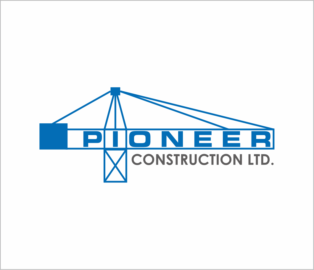 Logo Design by Armada Jamaluddin - Entry No. 79 in the Logo Design Contest Imaginative Logo Design for  Pioneer Construction Ltd.