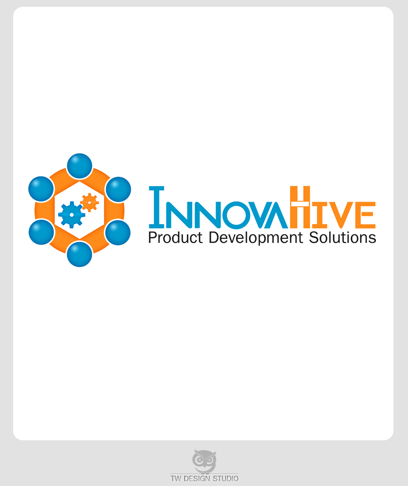 Logo Design by Robert Turla - Entry No. 28 in the Logo Design Contest InnovaHive Logo Design.