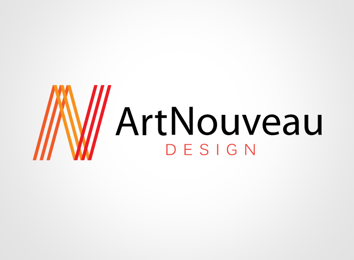 Logo Design by Jan Chua - Entry No. 68 in the Logo Design Contest Artistic Logo Design for Art Nouveau Design.