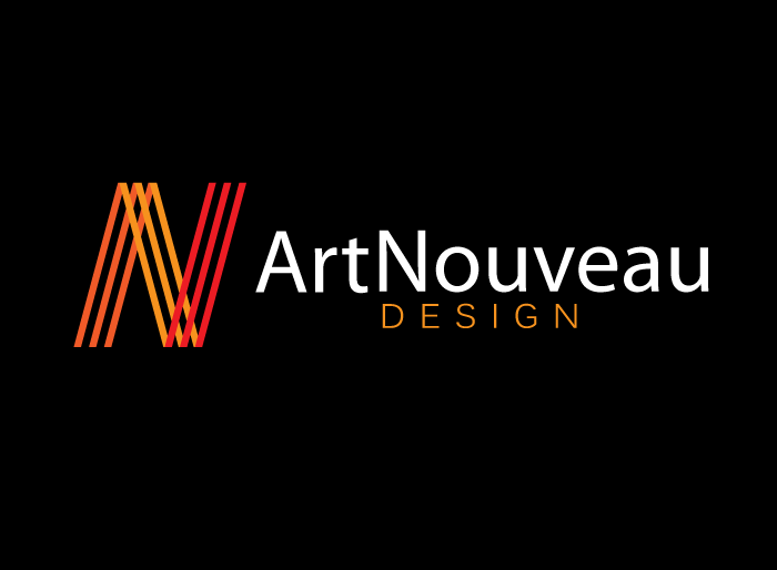 Logo Design by Jan Chua - Entry No. 69 in the Logo Design Contest Artistic Logo Design for Art Nouveau Design.