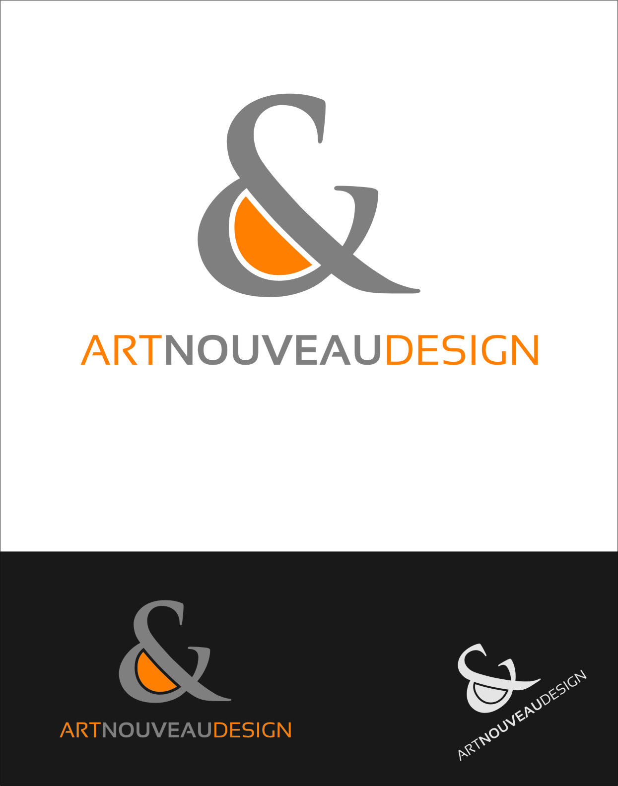 Logo Design by RasYa Muhammad Athaya - Entry No. 73 in the Logo Design Contest Artistic Logo Design for Art Nouveau Design.