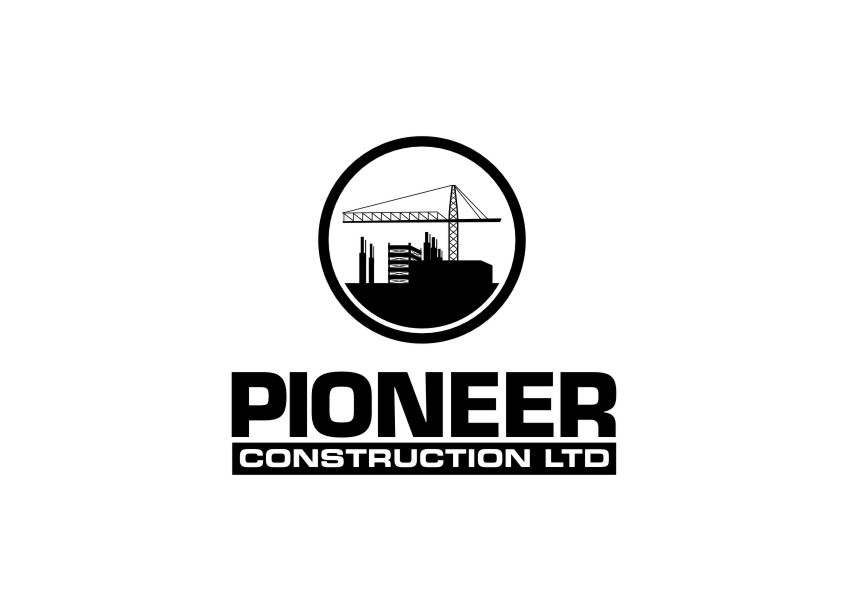 Logo Design by untung - Entry No. 87 in the Logo Design Contest Imaginative Logo Design for  Pioneer Construction Ltd.