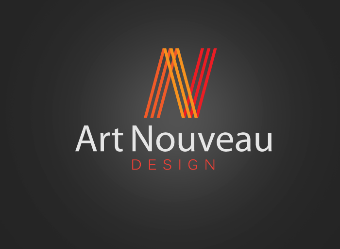 Logo Design by Jan Chua - Entry No. 77 in the Logo Design Contest Artistic Logo Design for Art Nouveau Design.