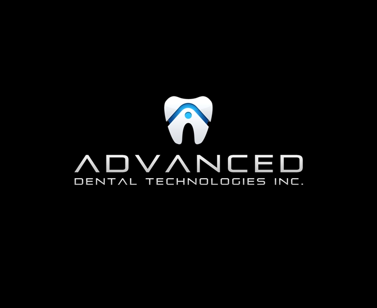 Logo Design by Juan_Kata - Entry No. 8 in the Logo Design Contest Fun Logo Design for Advanced Dental Technologies Inc..