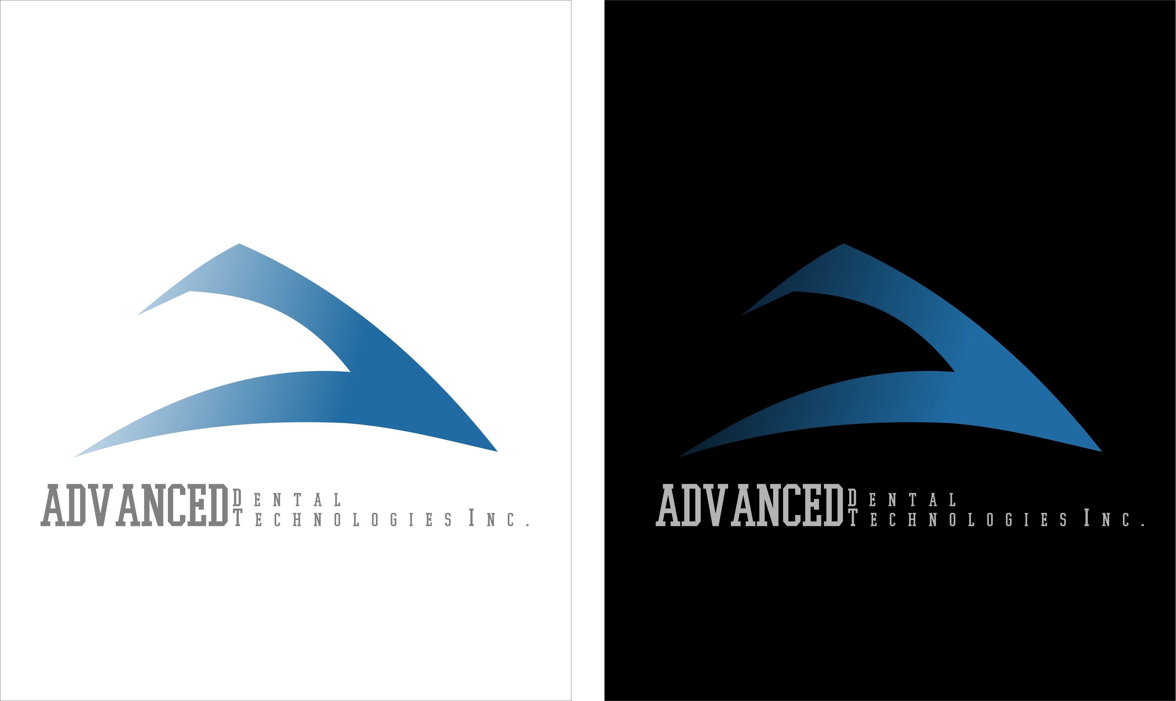 Logo Design by Jaima Ancajas - Entry No. 9 in the Logo Design Contest Fun Logo Design for Advanced Dental Technologies Inc..