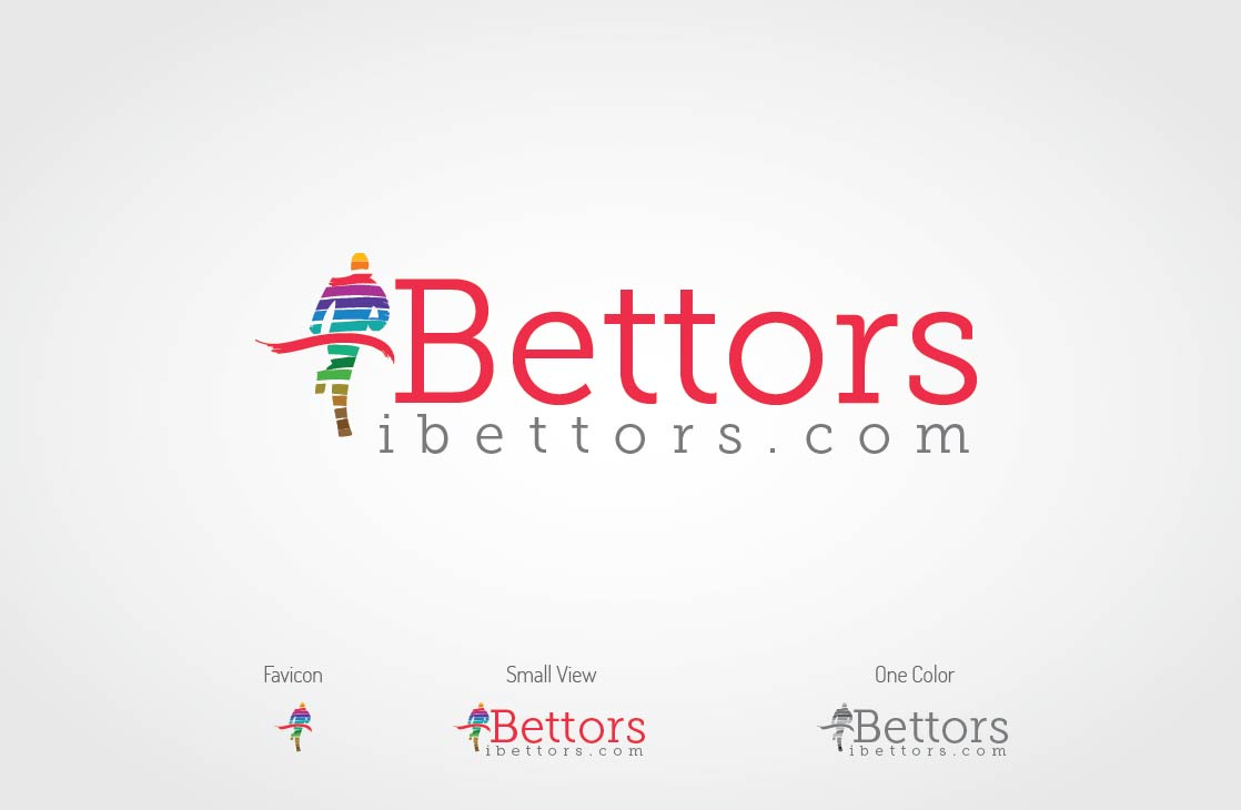 Logo Design by Shahriar Zaman - Entry No. 55 in the Logo Design Contest Captivating Logo Design for iBettors.com.