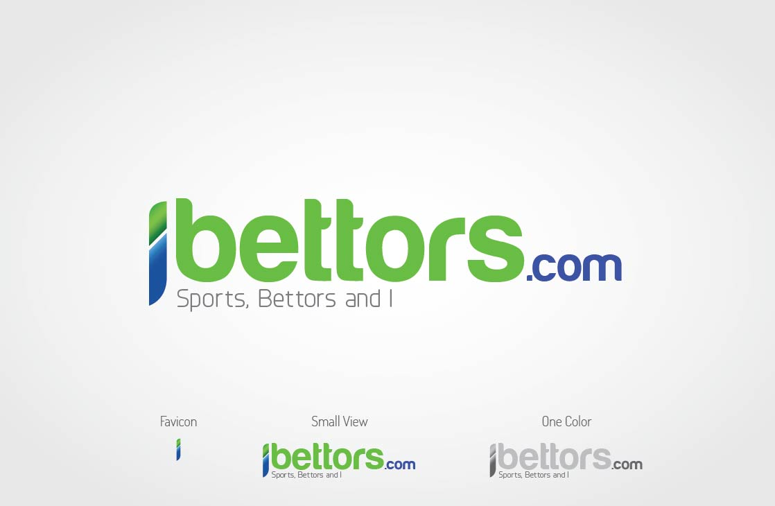 Logo Design by Shahriar Zaman - Entry No. 56 in the Logo Design Contest Captivating Logo Design for iBettors.com.