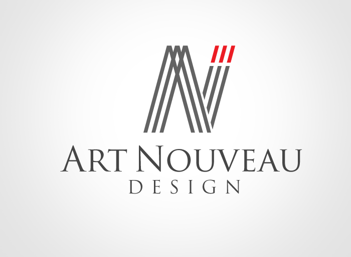 Logo Design by Jan Chua - Entry No. 83 in the Logo Design Contest Artistic Logo Design for Art Nouveau Design.