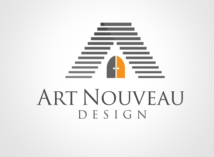 Logo Design by Jan Chua - Entry No. 87 in the Logo Design Contest Artistic Logo Design for Art Nouveau Design.