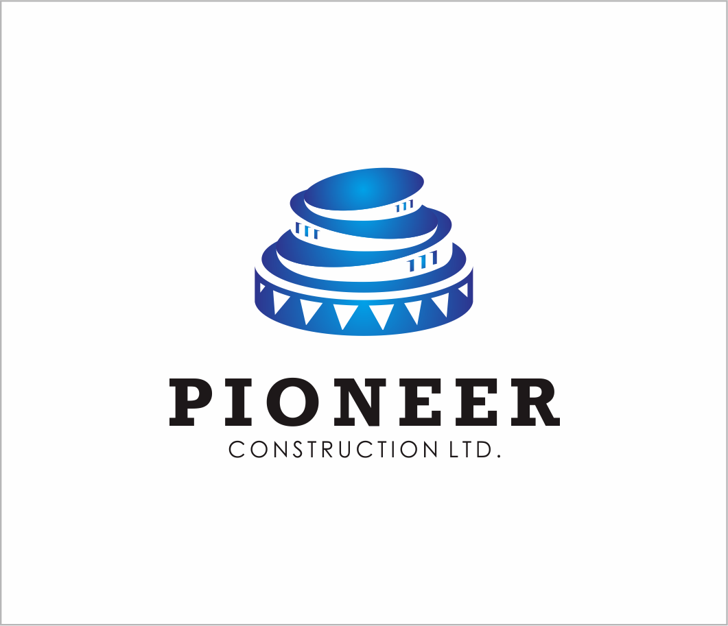 Logo Design by Armada Jamaluddin - Entry No. 92 in the Logo Design Contest Imaginative Logo Design for  Pioneer Construction Ltd.
