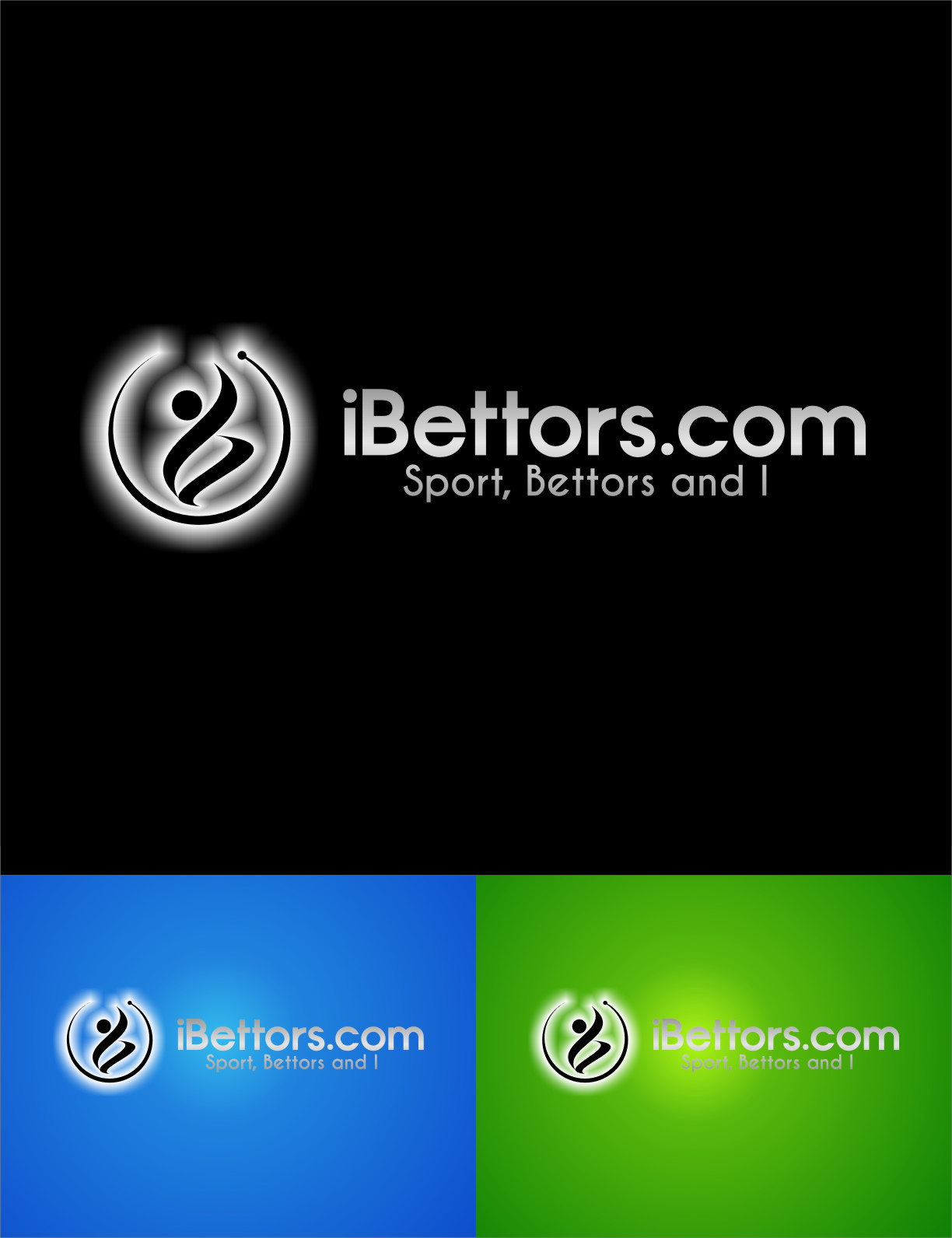 Logo Design by RasYa Muhammad Athaya - Entry No. 62 in the Logo Design Contest Captivating Logo Design for iBettors.com.