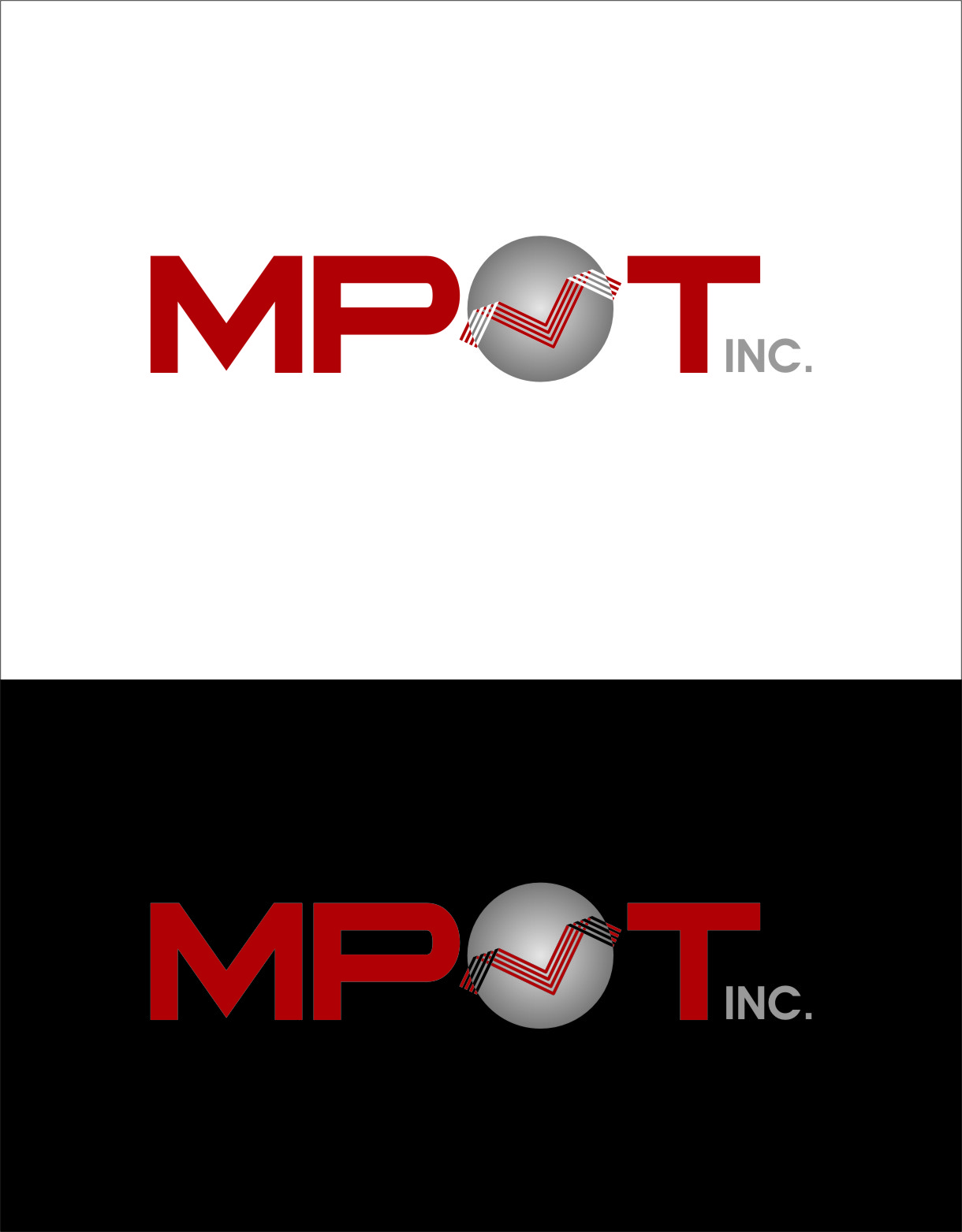 Logo Design by Ngepet_art - Entry No. 25 in the Logo Design Contest Mpot inc  Logo Design.